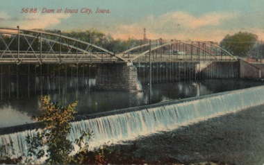 Dam at Iowa City, Iowa